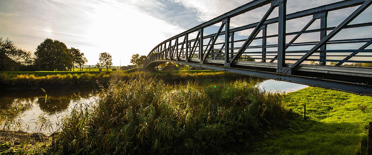 Die schmalste Autobrücke Europas